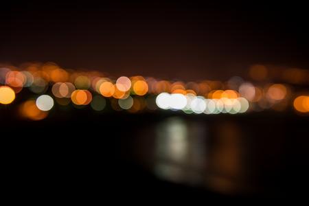 Puerto de la Cruz at night - bokeh