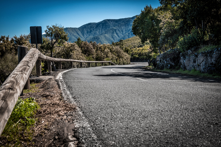 Streets of Tenerife - national park