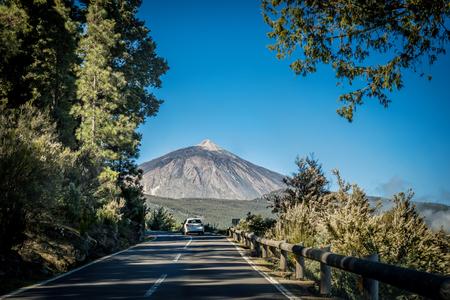 Straten van Tenerife - nationaal park