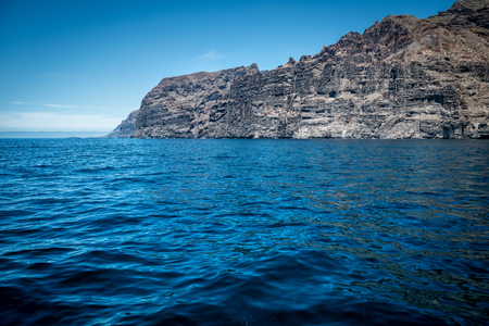 Ocean and Los Gigantes of Tenerife