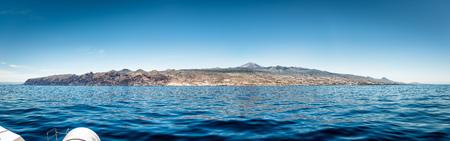 Tenerife - Canarische eilanden en de Atlantische Oceaan Stockfoto