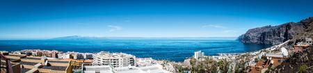 View point - Los Gigantes of Tenerife 版權商用圖片 - 93129872