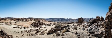 Las Canadas del Teide - national park 版權商用圖片 - 93154334