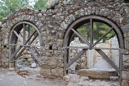 Ruins of ancient city Olimpos in Lycia. Antalya Province. Turkey
