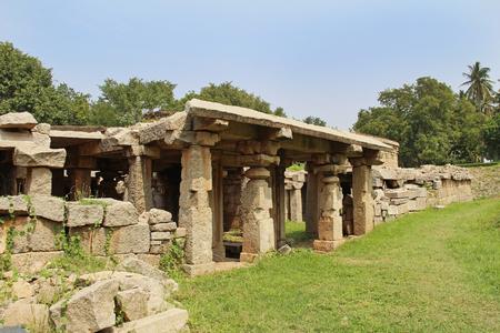 Prasanna Virupaksha temple is also known as the Underground Shiva Temple in Hampi, Karnataka, India.