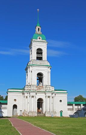 The bell tower of the Spaso-Yakovlevsky Dimitrievsky Monastery. Rostov. Russia
