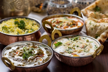 curry dish: indian food
