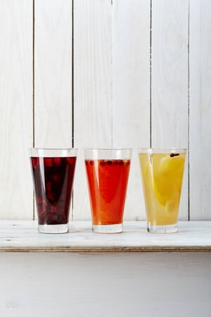 Selection of iceteas