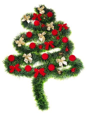 toygift: Christmas decoration, isolated on white background Stock Photo