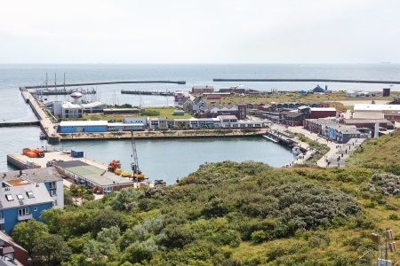 helgoland: Island Helgoland in Germany on sunny day Stock Photo