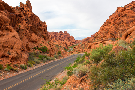 natural landmark: Valley of Fire State Park is the oldest state park in Nevada, USA and was designated as a National Natural Landmark in 1968.