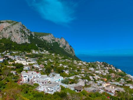 capri: The beautiful Capri island - Italian travel series Stock Photo