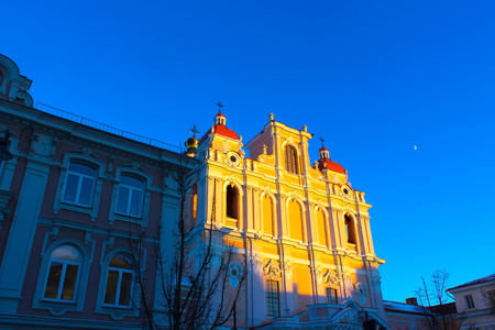 casimir: Church of St. Casimir in Vilnius, Lithuania Stock Photo
