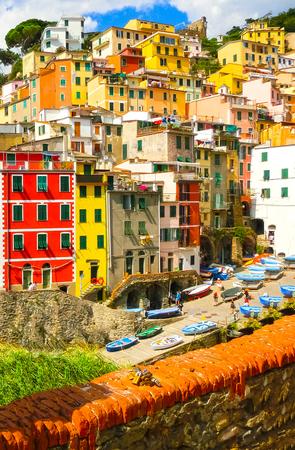Riomaggiore, Cinque Terre National Park, Liguria, La Spezia