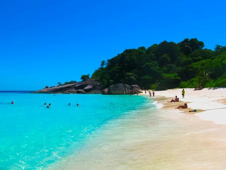 Bay of Similan Islands Stock Photo