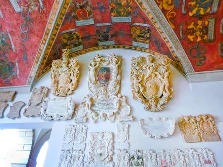 Palazzo Bo, historical building home Editorial