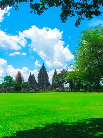 Prambanan temple near Yogyakarta on Java, Indonesia