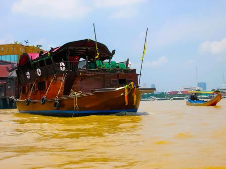 The river Chao Praya in Bangkok