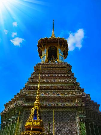The palace of the king at Bangkok, Thailand