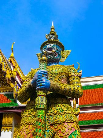 daemon: Guard Daemon - Royal Palace, Bangkok, Thailand.