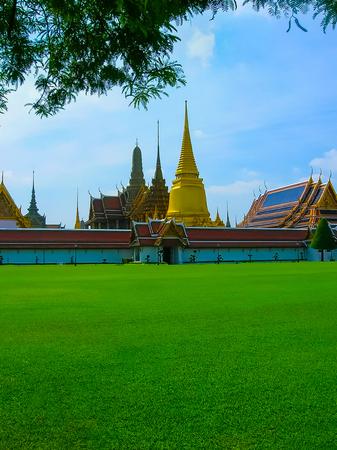 Bangkok, Thailand - June 30, 2008: The palace of the king