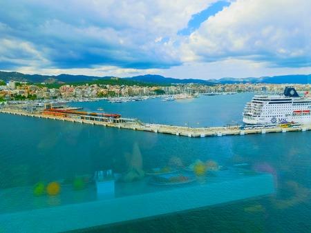Palma de Mallorca, Spain - September 07, 2015: Royal Caribbean, Allure of the Seas
