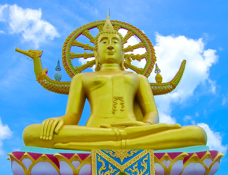big buddha statue on koh samui, thailand Stock Photo