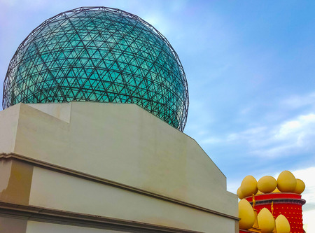 salvador dali museum: Figueres, Spain - September 15, 2015: Dali Museum in Figueres, Spain