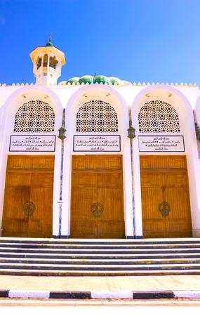 Mubarak Mosque, Islamic. Egypt. Big mosque in Sharm-El-Sheikh Stock Photo