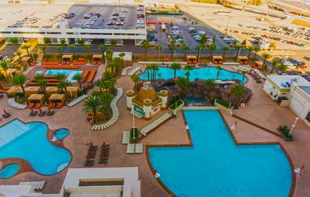 glitzy: Las Vegas, USA - May 04, 2016: Excalibur Hotel and Casino in , Nevada. Editorial
