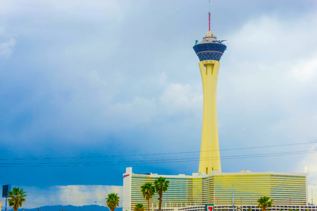 Las Vegas, United States of America - May 07, 2016: Stratosphere Hotel and Casino on the Las Vegas Strip, Editorial