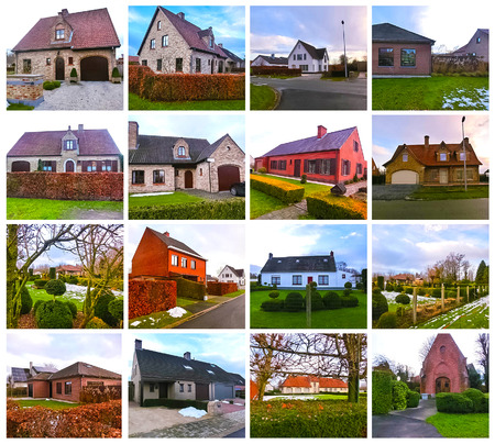 Belgian Country House. A charming house typical of Belgian country style