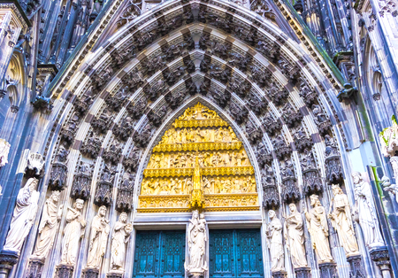 Cologne Cathedral or High Cathedral of Saint Peter is a Roman Catholic cathedral