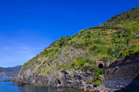 Vernazza Bay - Cinque Terre, La Spezia Province, Liguria Region, Italy