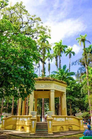 Parque Vargas, City Park in Puerto Limon at Costa Rica