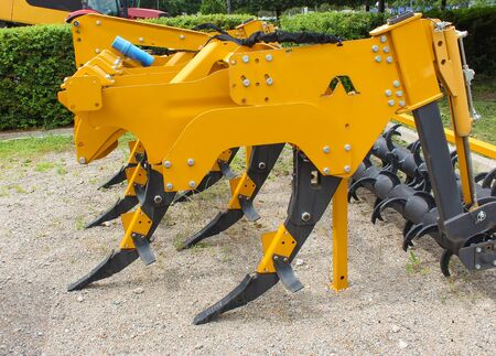 Plow for plowing soil. Subsoiler or flat lifter for tractor. Trailers for agricultural machinery.