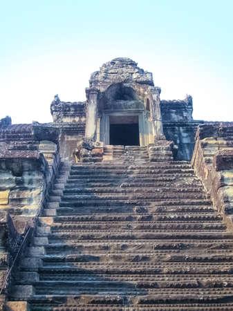 The Angkor Wat Temple, Siem Reap, Cambodia at sunny day