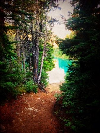 garibaldi: Top Garibaldi mountain in BC Stock Photo