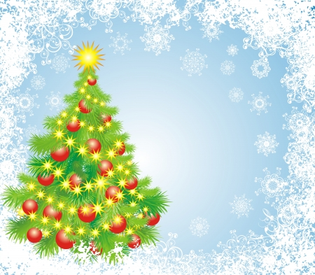 Christmas background Stock Vector - 16258470