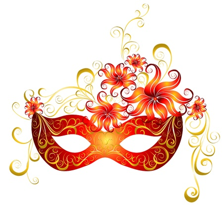 Masks for a masquerade  Party mask   Vector