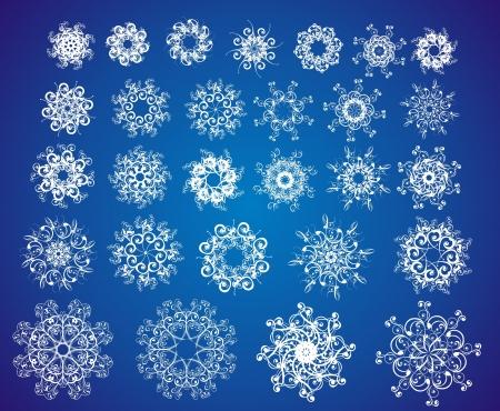 snowflake set: Snowflake set