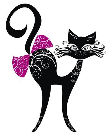 familia animada: Gato negro