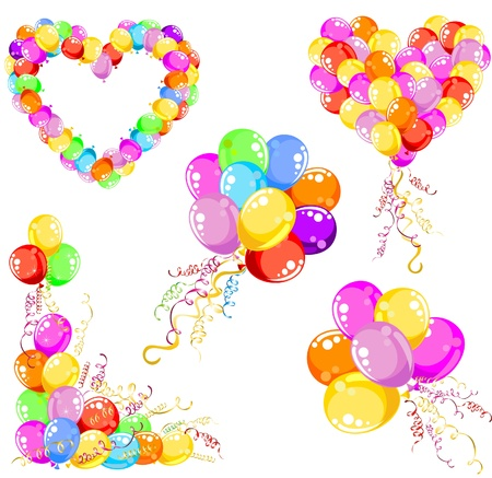 Balloons design  Vector illustration  Vector