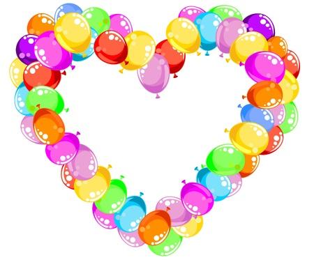 Balloons Heart Stock Vector - 16389183