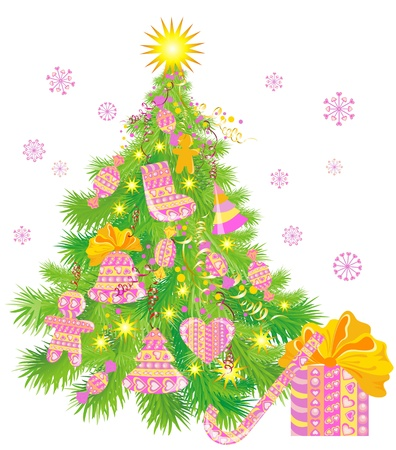 Christmas tree Stock Vector - 16389294