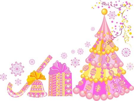 Christmas card Stock Vector - 16389229