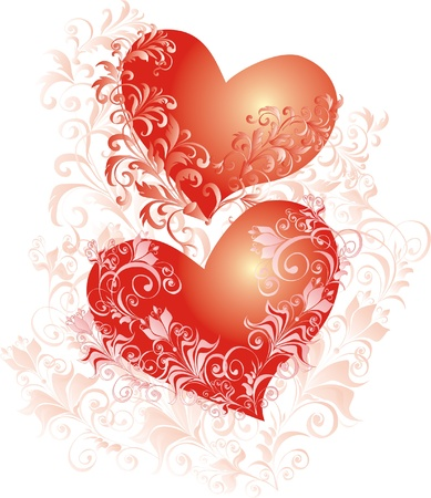 Abstract heart  Element for design  Stock Vector - 16517070