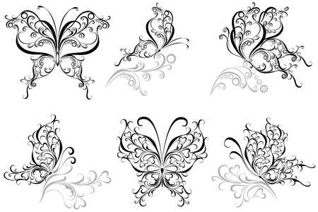 Set butterfly Stock Vector - 16468205
