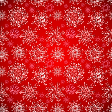Christmas Seamless snowflakes background Stock Vector - 16468287