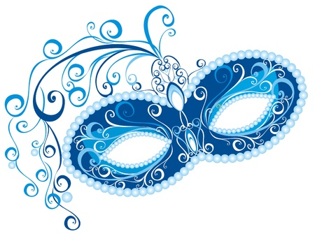 mardi: Venetian mask